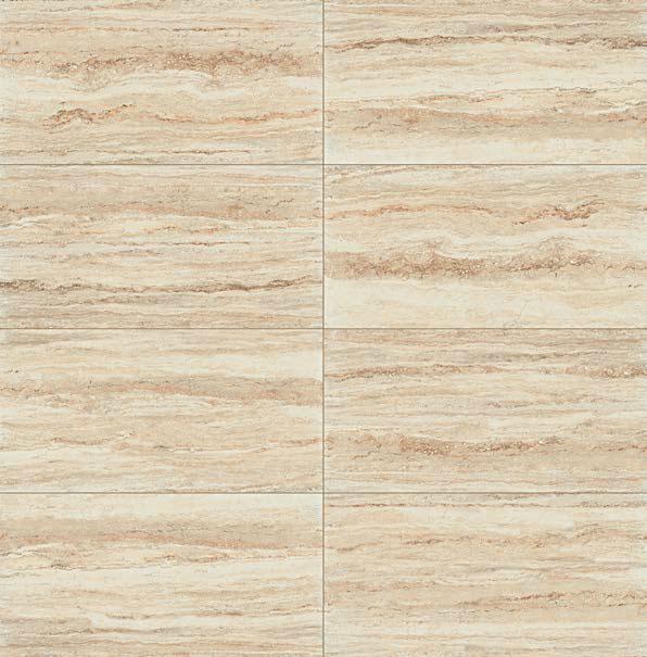 Effetto marmo Travertino. I marmi: una selezione di preziose ispirazioni marmoree.