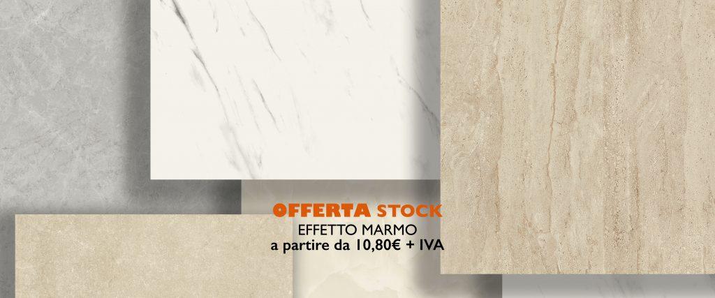 EFFETTO MARMO PRIMA SCELTA LUCIDO 60X60 A 13,50€ - 60X120 A 14,90€